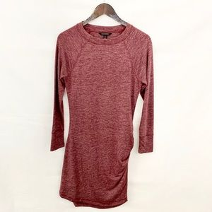 Banana Republic Burgundy Knit Sweater Dress